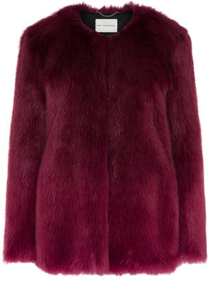 Mary Katrantzou Thalia Fur Coat