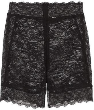 ce8e5c4da27 Dundas - Stretch-lace Shorts - Black