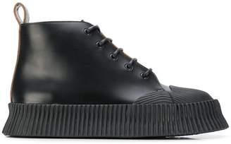 Jil Sander chunky boots