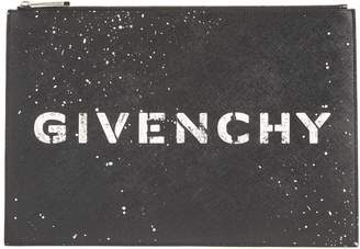 Givenchy Iconic Faux Leather Pouch