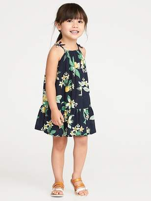 Old Navy Tiered Floral-Print Sundress for Toddler Girls