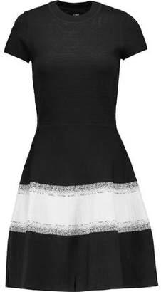 Line Rejina Stretch Jacquard-Knit Mini Dress