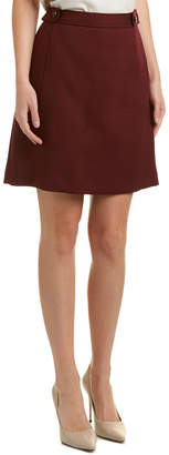 Brooks Brothers Wool-Blend Skirt