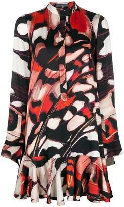 Alexander McQueen printed flared dress