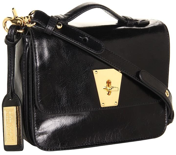 Badgley Mischka - Kaitlyn Shine Crossbody (Black) - Bags and Luggage