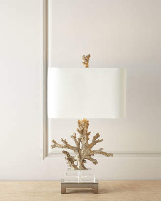 Horchow Poseidon Coral Table Lamp