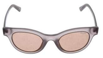 Quay Star Struck Cat-Eye Sunglasses