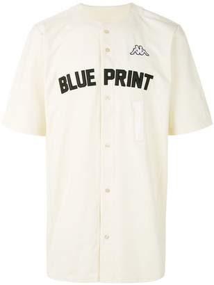 Kappa Kontroll Blueprint baseball shirt