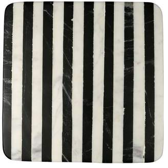 Thirstystone Old Hollywood Striped Marble Trivet