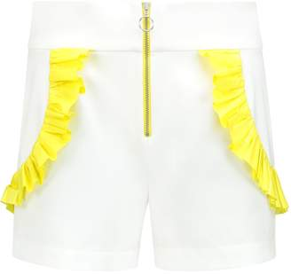 The Endless Summer blonde gone rogue High Waisted Shorts In White