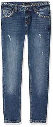 GUESS Girl's J83a05d3221 Jeans, (Blue Creek Bcek), (Size: 10)