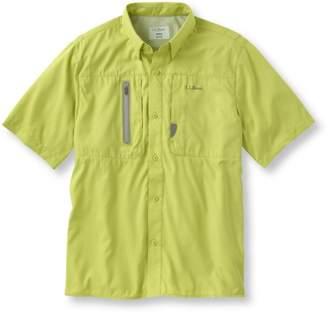 L.L. Bean L.L.Bean Rapid River Technical Fishing Shirt, Short-Sleeve