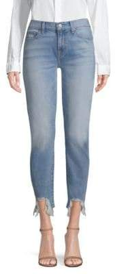7 For All Mankind Roxanne Ankle Cigarette Skinny Jeans