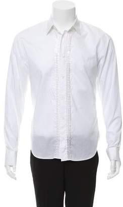 Christian Dior 2007 Embellished Poplin Shirt