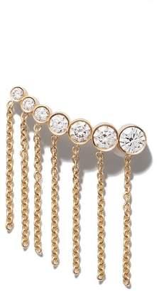 Sophie Bille Brahe x Sacai Croissant ダイヤモンド ピアス 18Kイエローゴールド