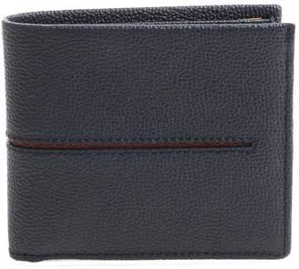 Tod's Striped Detail Bi-fold Wallet