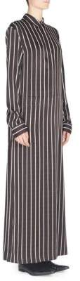 Haider Ackermann Striped Maxi Shirtdress