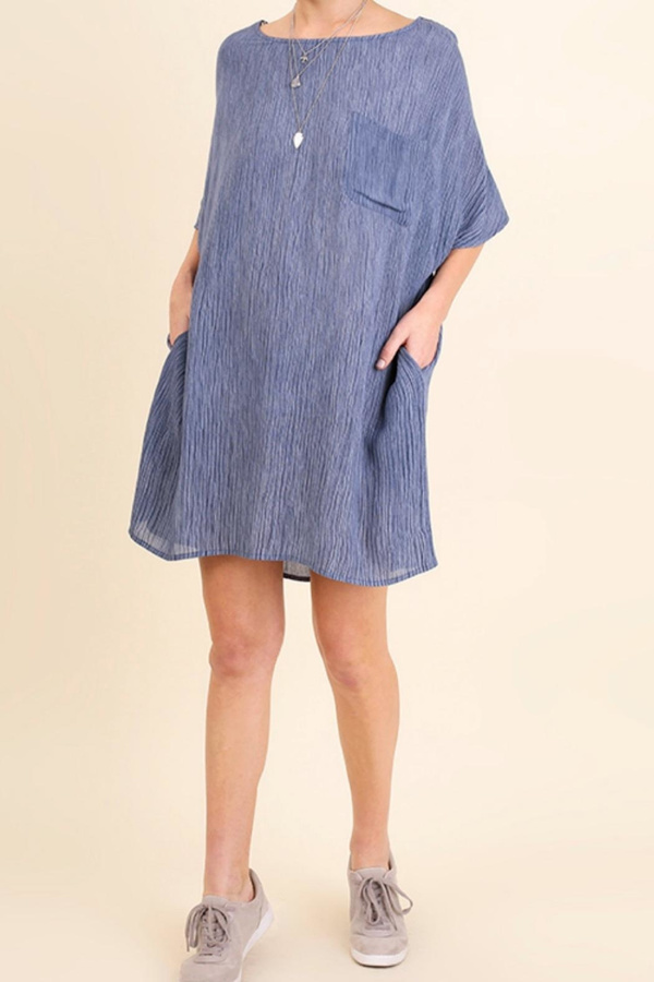 Umgee USA Oversized Tee Dress