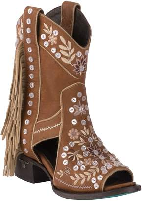 Lane Boots Cactus Button Leather Boot