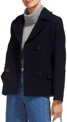 Whistles Cropped Pea Coat