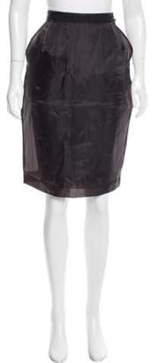 Jean Paul Gaultier Knee-Length Pencil Skirt w/ Tags Black Knee-Length Pencil Skirt w/ Tags