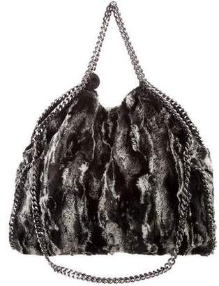 Stella McCartney Small Faux Fur Falabella Tote