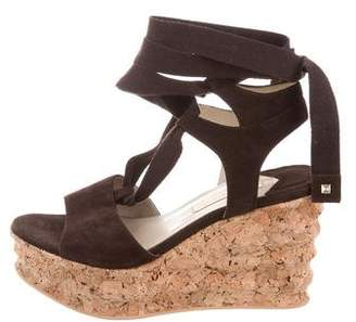 Paloma Barceló Paloma Berceló Suede Wedge Sandals