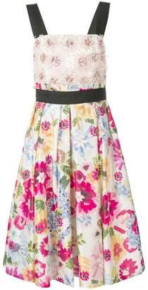 3b25d155efd9 Escada floral-print dress
