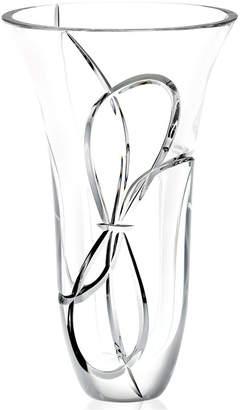 """Vera Wang Wedgwood Crystal Gifts, Love Knots Vase 10"""""""