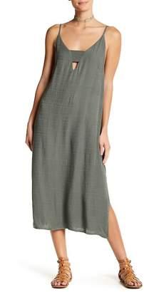 Anama Woven V-Neck Dress