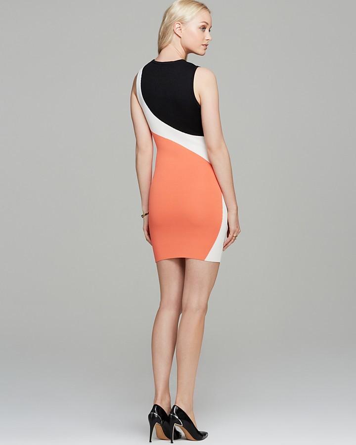 Torn by Ronny Kobo Dress - Sarita Color Block