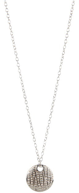 gorjana - Reversible Alphabet Necklace (S) (Silver) - Jewelry