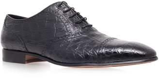 Stemar Crocodile Oxford Shoe
