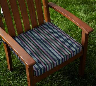 Pottery Barn Sunbrella®; Piped Outdoor Dining Chair Cushion - Solid