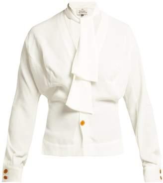Vivienne Westwood Wilma crepe de Chine blouse