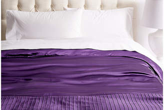 Kumi Kookoon French Pleat Silk Duvet Cover - Iris