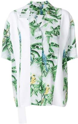 Stella McCartney exotic print shirt