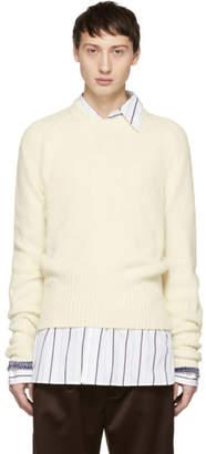Maison Margiela Off-White Cashmere Sweater