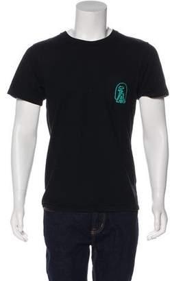 A Bathing Ape Embroidered Milo Pocket T-shirt
