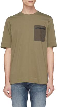 Denham Jeans 'Kursk' contrast chest pocket T-shirt