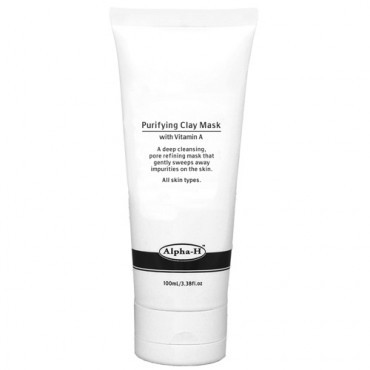 alpha-h purifying clay mask 100ml Old Packaging