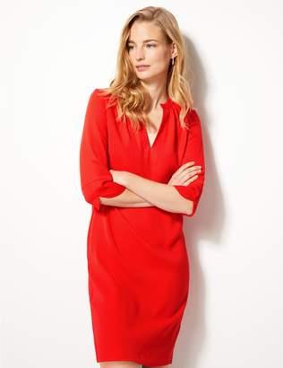 Marks and Spencer 3/4 Sleeve Shift Dress