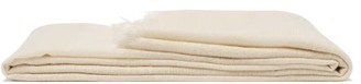From The Road - Asama Cashmere Blend Throw - Ivory