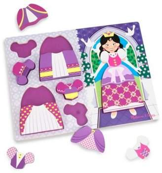 Melissa & Doug Chunky Puzzle Dress Up Princess