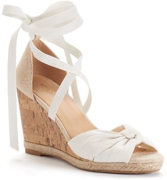 Apt. 9® Cheery Women's Wedge Sandals $59.99 thestylecure.com