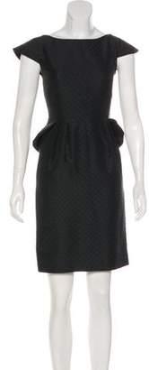 Temperley London Peplum Mini Dress