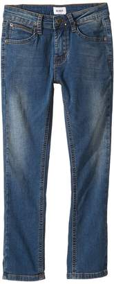 Hudson Jagger Slim Straight - Knit Denim in Beaten Blue Boy's Jeans