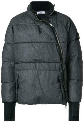 Stone Island off-centre zipped padded jacket