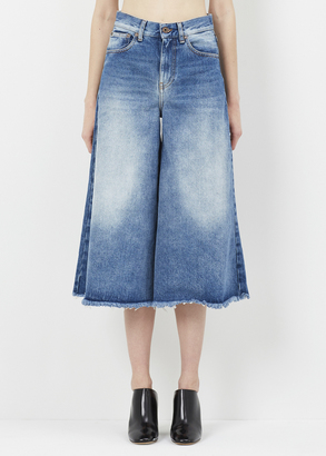 Off-White vintage wash capri 5 pocket $480 thestylecure.com