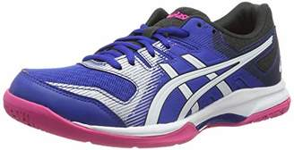 Asics Women's Gel-Rocket 9 Multisport Indoor Shoes, Blue/White 400
